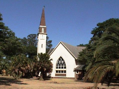 The Lakeview church of Christ at Rusape, Zimbabwe